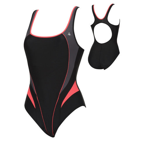 AquaSphere Lima Lycra Black/Red 34
