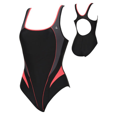 AquaSphere Lima Lycra Black/Red 38