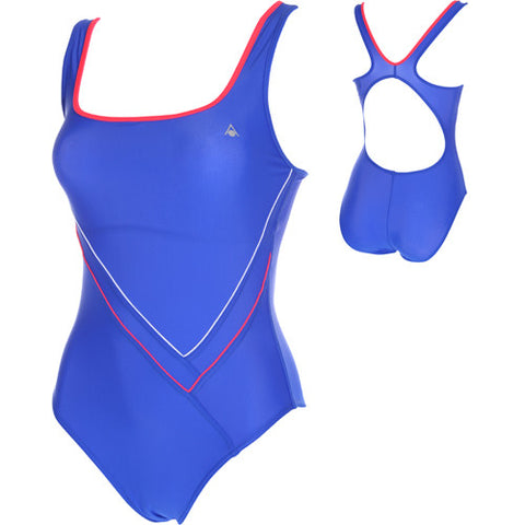 AquaSphere Gina Lycra Royal/Red 34