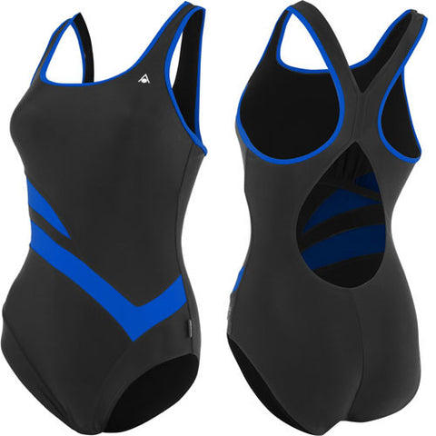 AquaSphere Madline Lycra Black/Blue 36