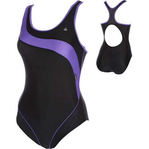 AquaSphere Tiki Lycra Black/Purple 32