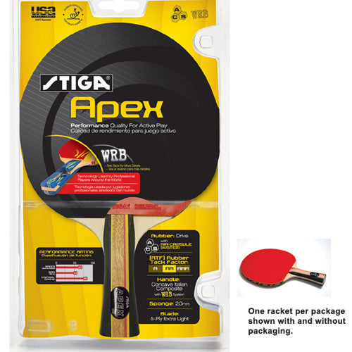 Stiga Table Tennis Racket Apex