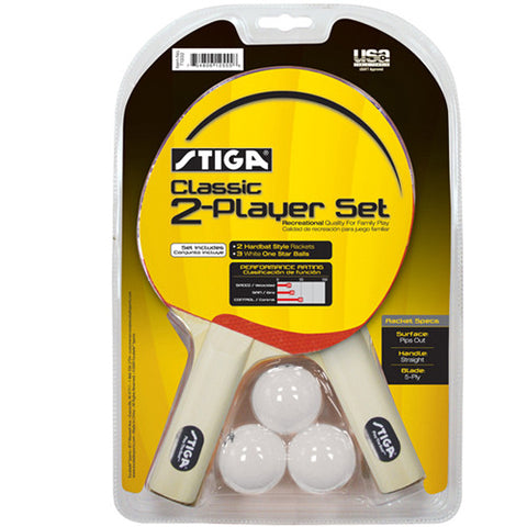 Stiga Table Tennis 2 Player Set Classic