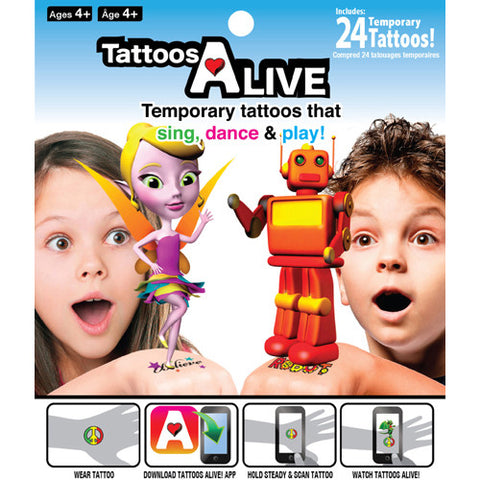 Tattoos Alive Collector's Pack