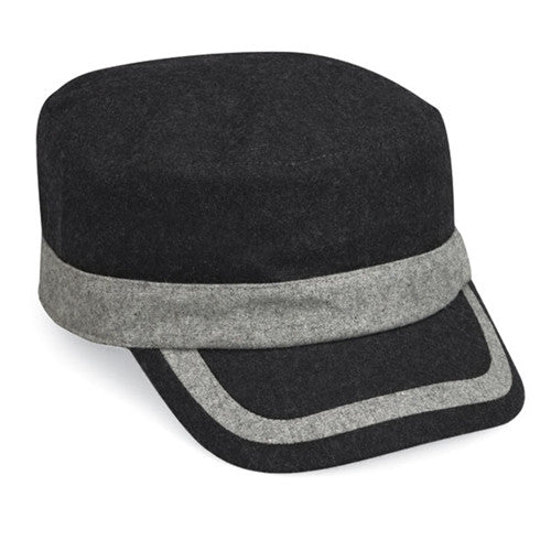 Wallaroo Tate Wool Hat Dark Gray