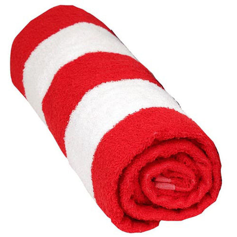 Wet Products Beach Towel Cabana Ultra Red