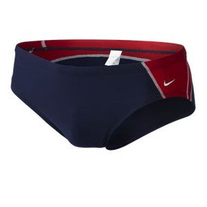 Nike Team Color Block Brief Red 38