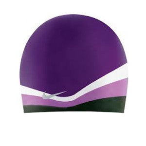 Nike Color Swirl Silicone Cap Purple