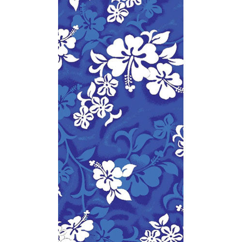 Wet Products Beach Towel Hibiscus Blue