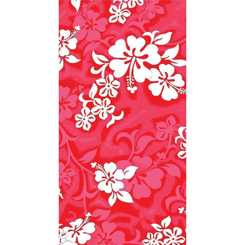 Wet Products Beach Towel Hibiscus Red