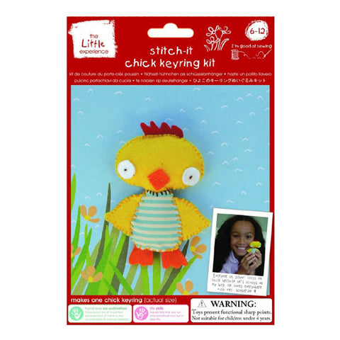 Little Experience Stitch It Chick Keyrin