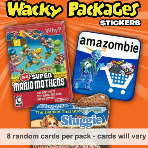 Wacky Packages Card Packs Series #9