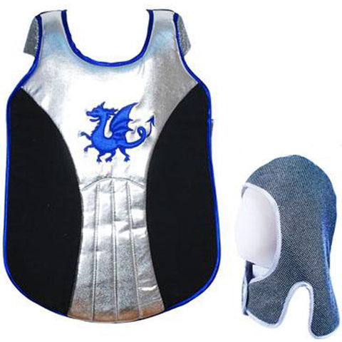 Knights and Dragons Tunic 3/4 Blue