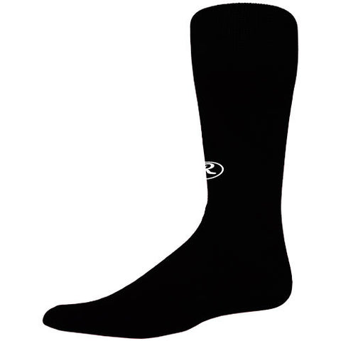 Rawlings Baseball Socks Tube Black Medium