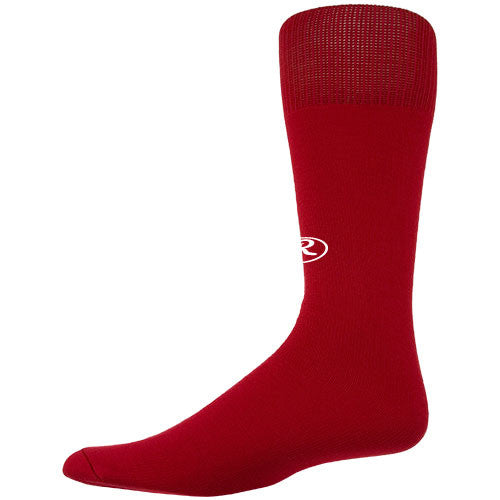 Rawlings Baseball Socks Tube Scarlet Small