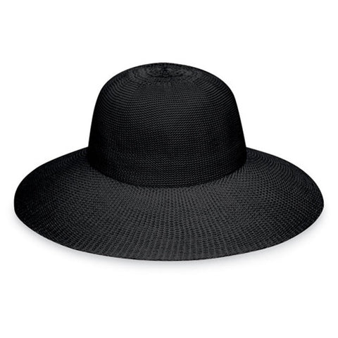 Wallaroo Victoria Diva UV Sun Hat Black