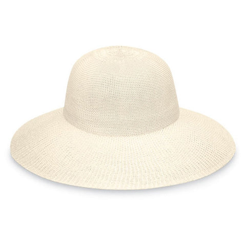 Wallaroo Victoria Diva UV Sun Hat Natural