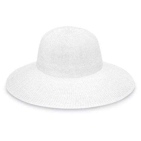 Wallaroo Victoria Diva UV Sun Hat White