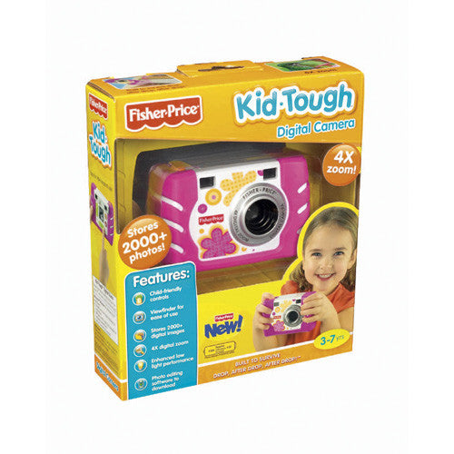 Fisher Kid-Tough Digital Cam Pink or Blu