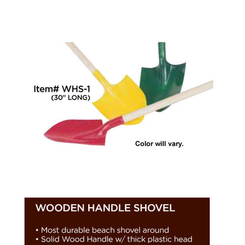Wet Products Wooden Handle Shovel 30""