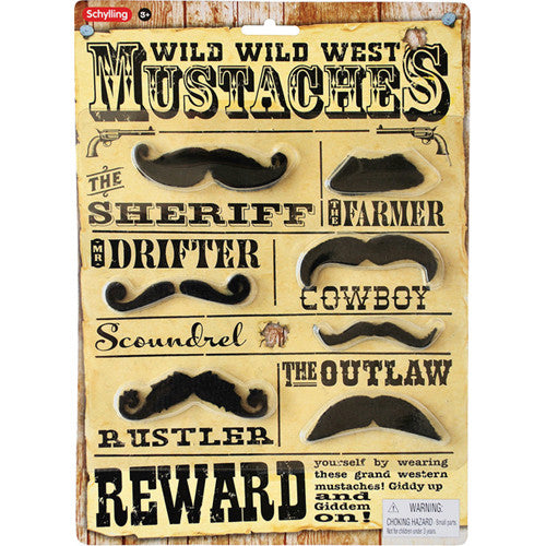 Schylling Western Mustaches