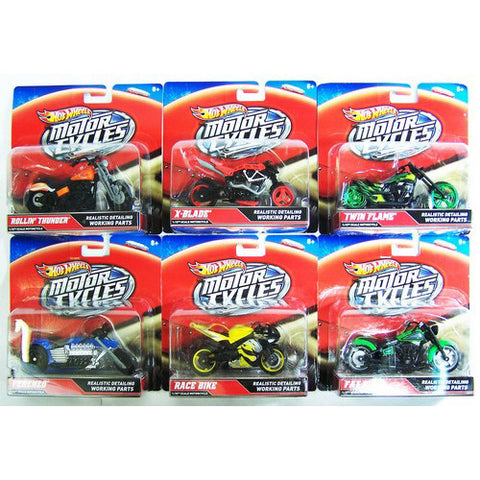 Mattel Hot Wheels Street Powr Motorcycle
