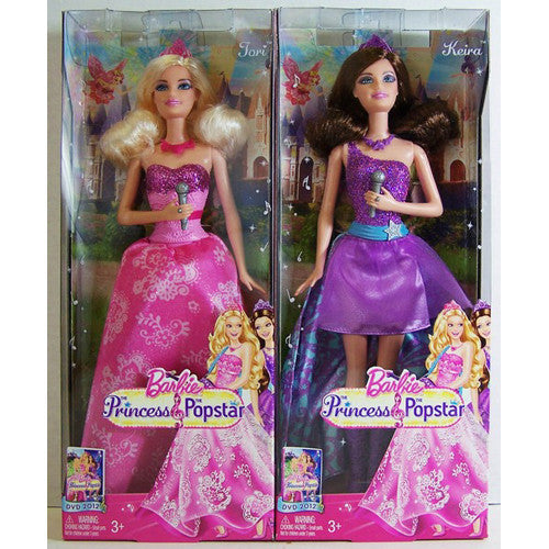 Barbie Princess/Popstar Doll Assorted