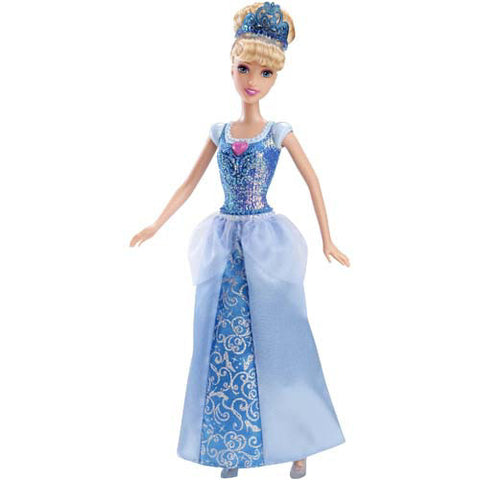 Mattel Sparkling Princess Barbie Doll| Cinderella