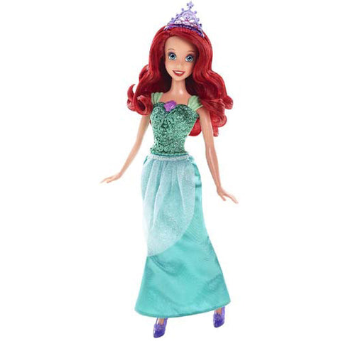 Mattel Sparkling Princess Barbie Doll| Ariel