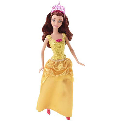 Mattel Sparkling Princess Barbie Doll| Belle