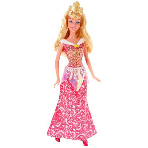 Mattel Sparkling Princess Barbie Doll| Sleeping Beauty