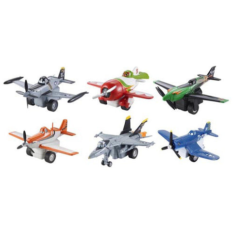 Mattel Disney CARS Pull & Fly Buddies