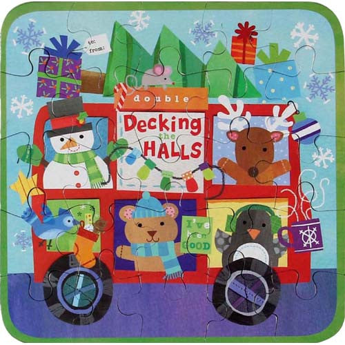 CR Gibson Decking the Halls Mini Puzzle