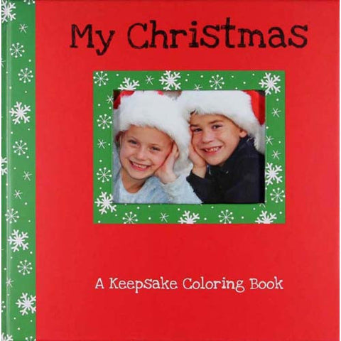CR Gibson Keepsake Color Book Christmas