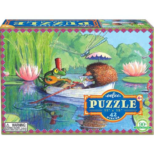 eeBoo Boat Ride 42pc Puzzle