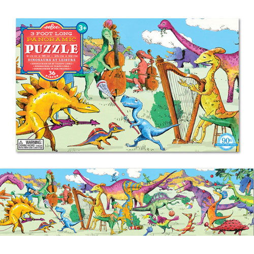 eeBoo Dinosaurs Leisure 36pc Puzzle