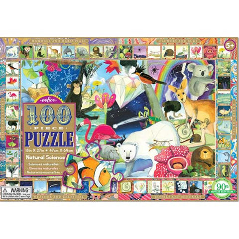 eeBoo Natural Science 100pc Puzzle