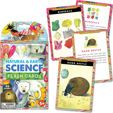 eeBoo Earth Science Flash Cards
