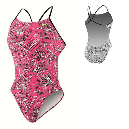Nike Scatter Brain Cut-Out Tank Pink 36