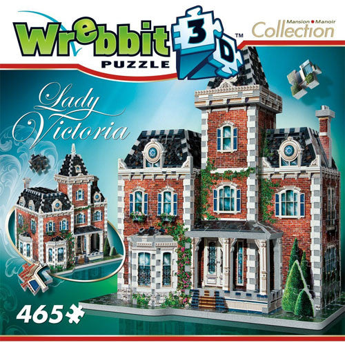 Wrebbit 3D 465pc Lady Victoria Mansion