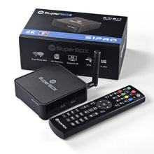 Load image into Gallery viewer, SuperBox S1 PRO IPTV Box Live TV USA No Monthly Fees