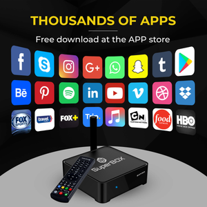 SuperBox S1 PRO IPTV Box Live TV USA No Monthly Fees