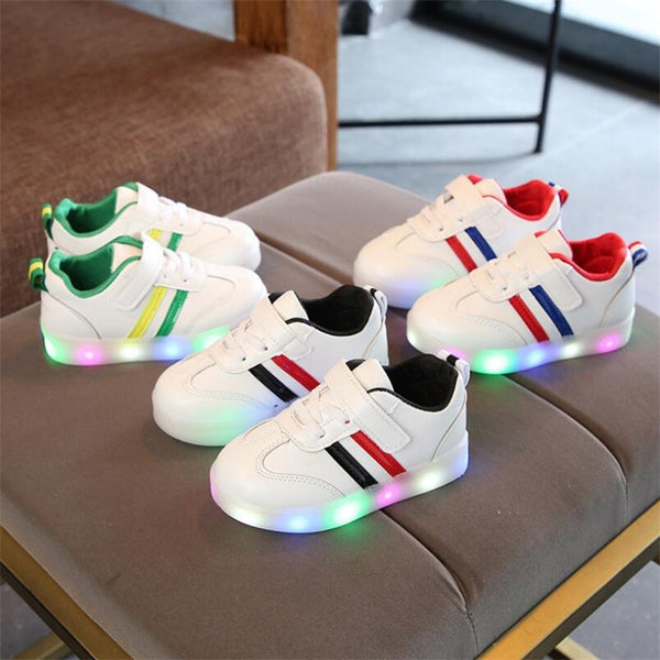 New Brand Cute Breathable Kids Light Shoes