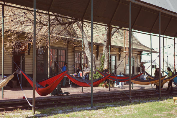 Roo Hammocks and Kammok HQ: photo Ashley Rokks