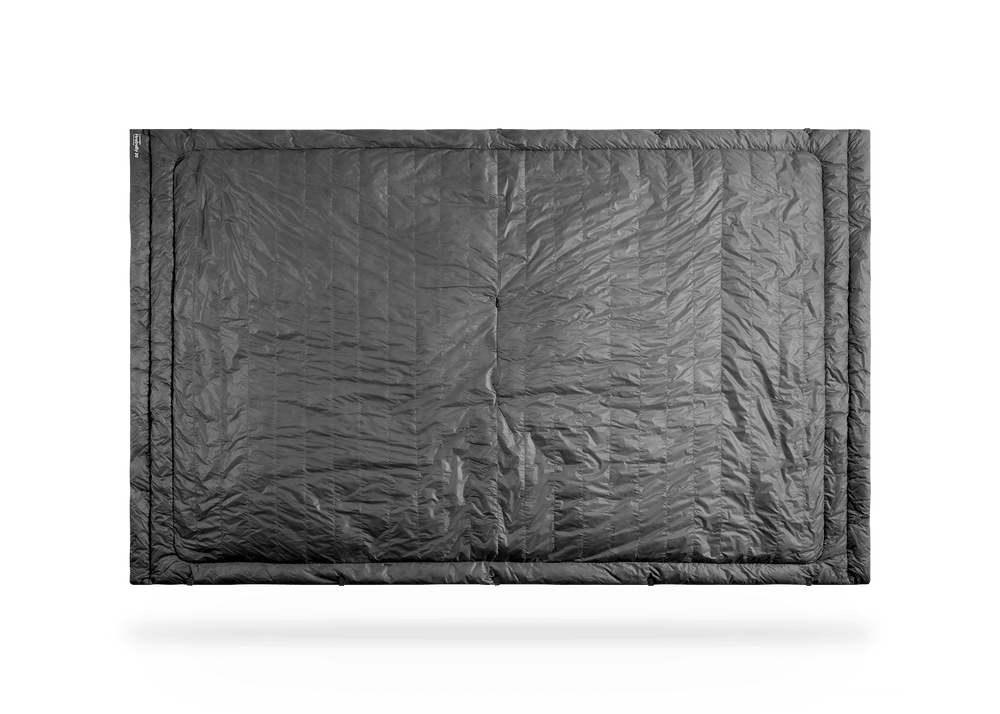 Kammok Trail Quilt Firebelly 30°F Granite Gray