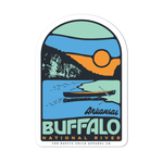 "2.25""x3.25"" Buffalo River Sticker"