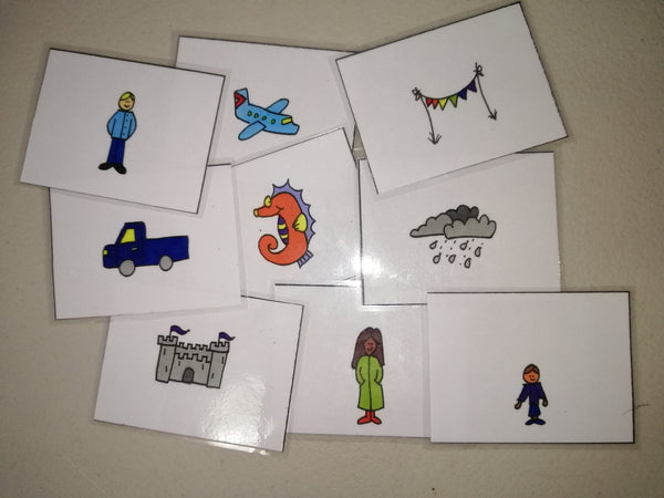 Hand drawn Storycards