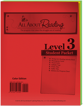 Level 3 All About Reading Individual Components