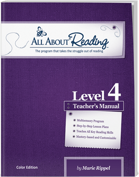 Level 4 All About Reading Individual products