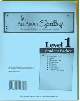 AAS Levels 1-7 Student Packet Only